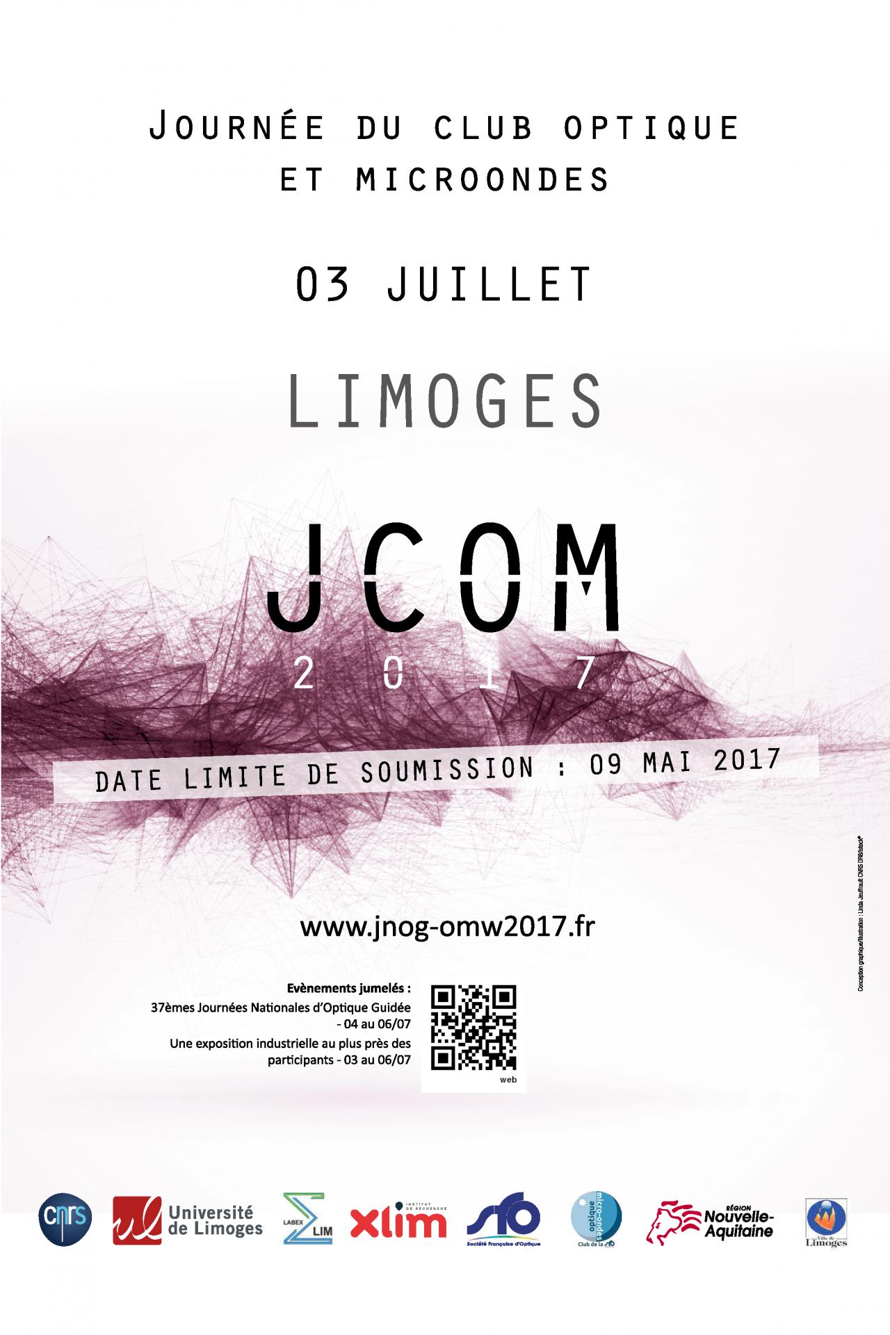 La Journée du Club Optique et Micoondes (JCOM) 2017