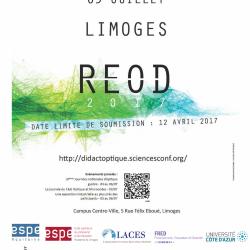 Rencontres Enseignement de l'optique et didactique : date limite de soumission le 12 avril