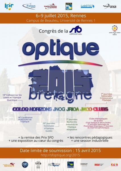 Affiche Optique Bretagne 2015