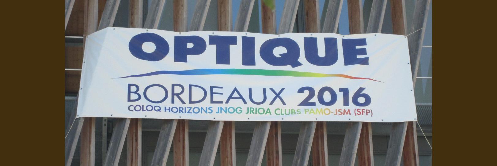 OPTIQUE Bordeaux 2016