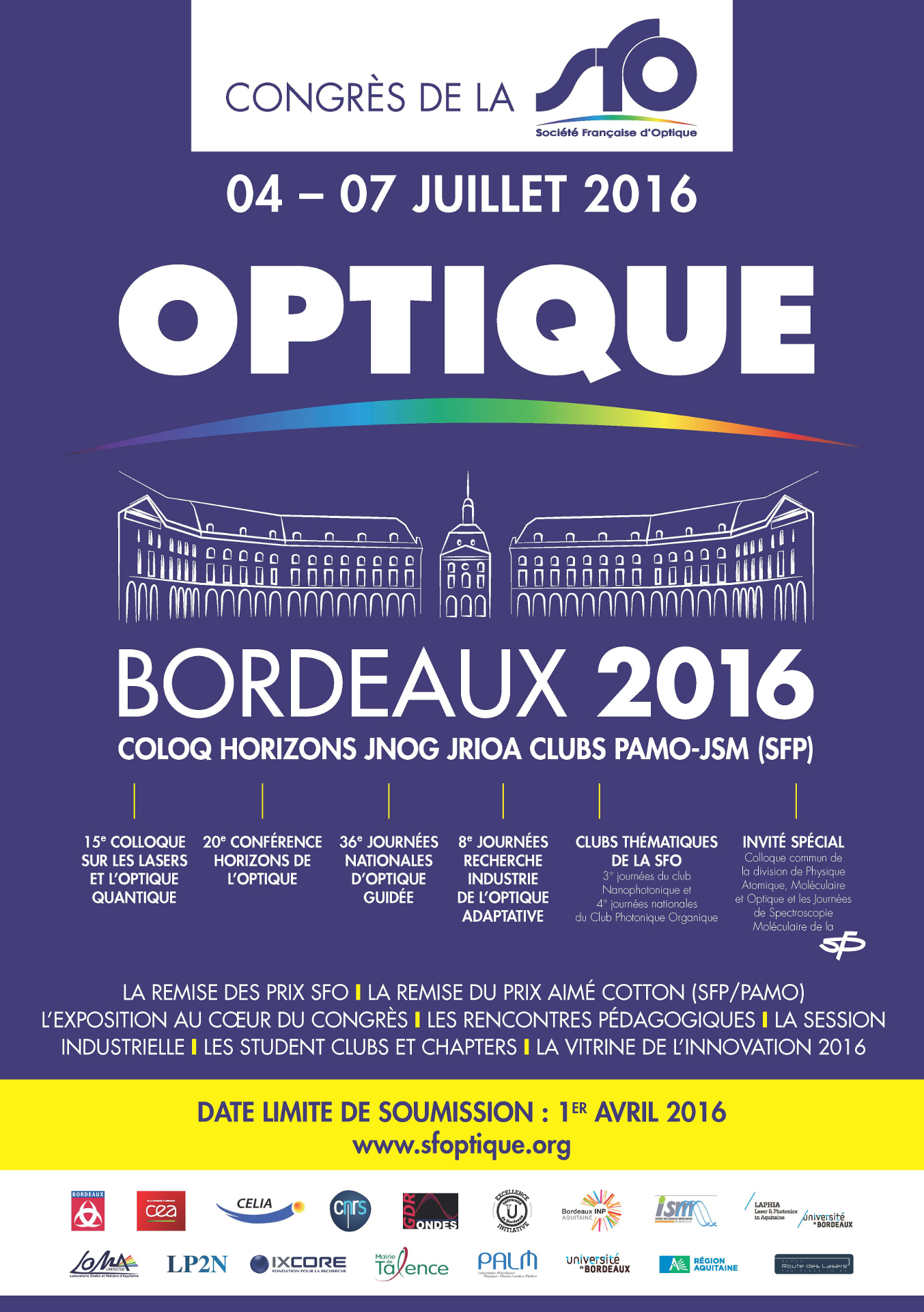 Congres OPTIQUE Bordeaux 2016