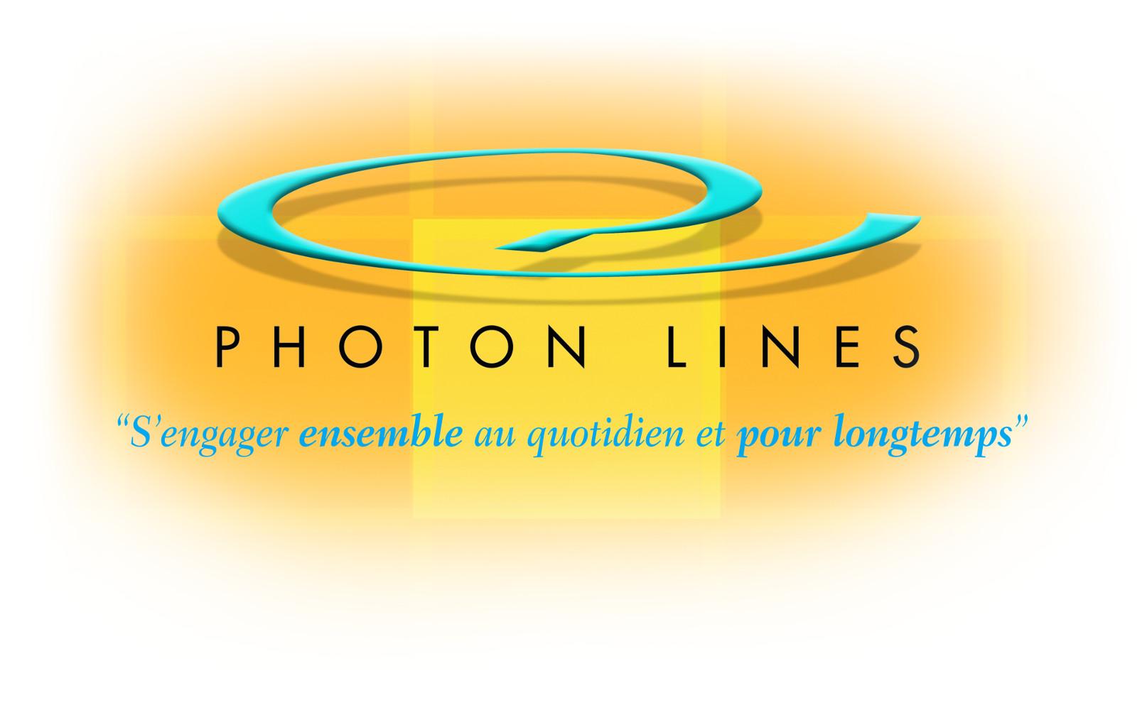 Logo photon lines sas site