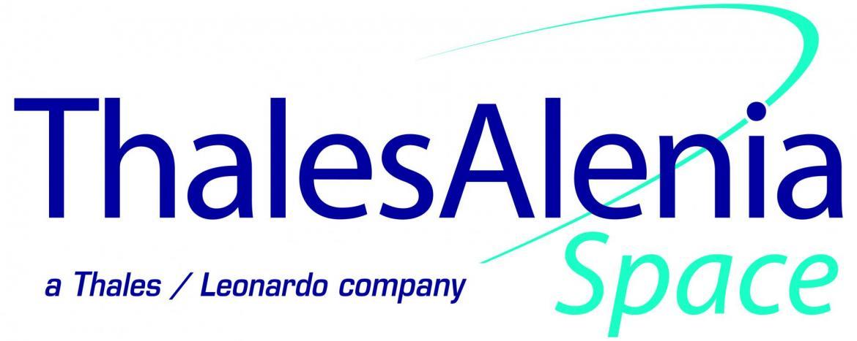 Logo thales alenia space leonardo