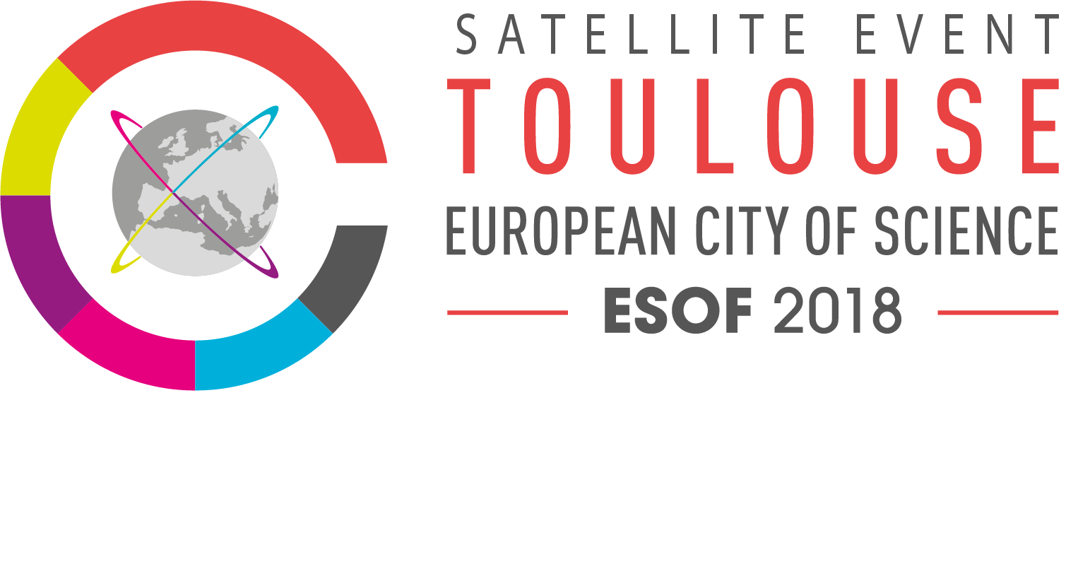 Logotype esof satellite webssfond