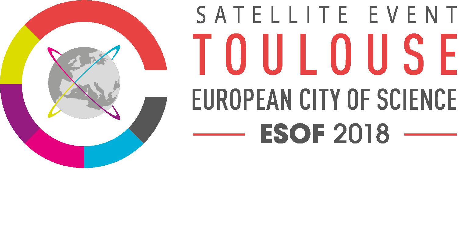 Logotype esof satellite webssfond