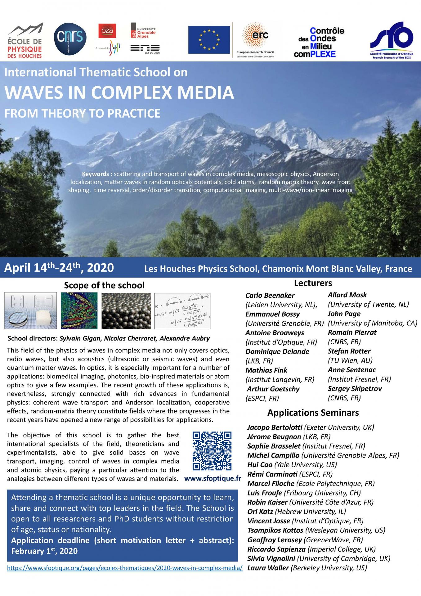 Waves in complex Media