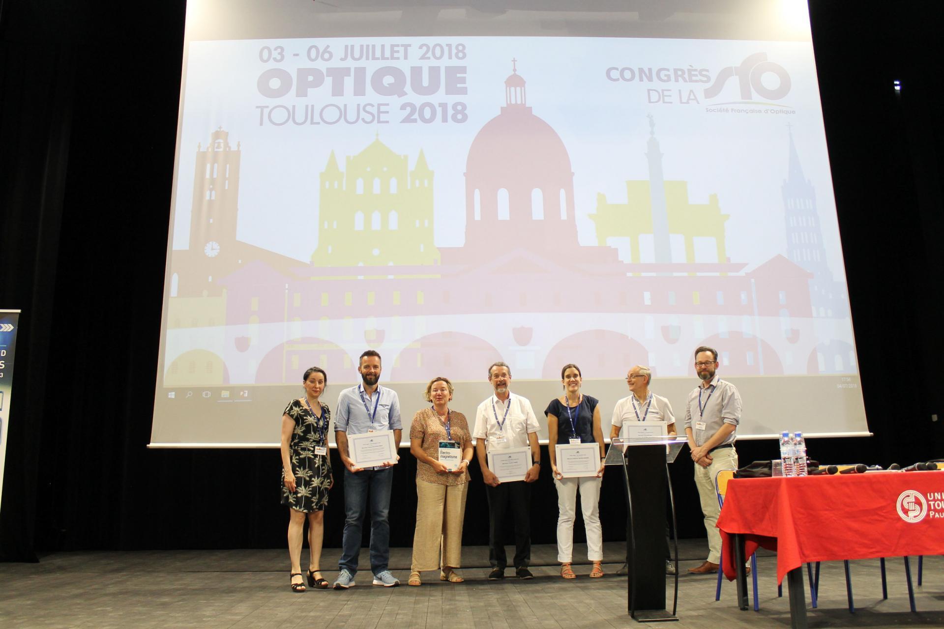 Les Prix SFO remis lors d'OPTIQUE Toulouse 2018