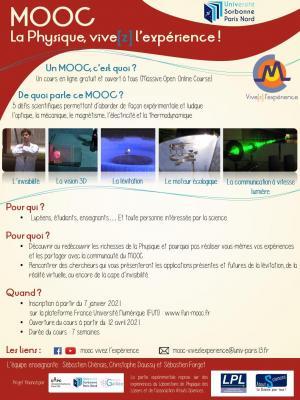 MOOC - 12 avril 2021