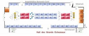Le plan de l'exposition d'OPTIQUE Dijon 2021