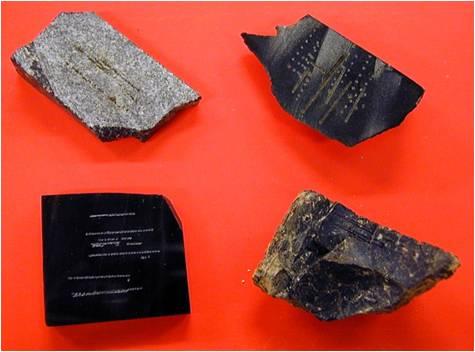 Analyse LIBS d'échantillons de roches naturelles