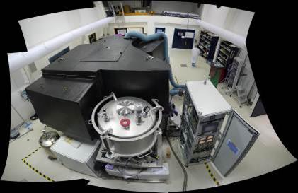l'instrument SPHERE intégré à l'IPAG